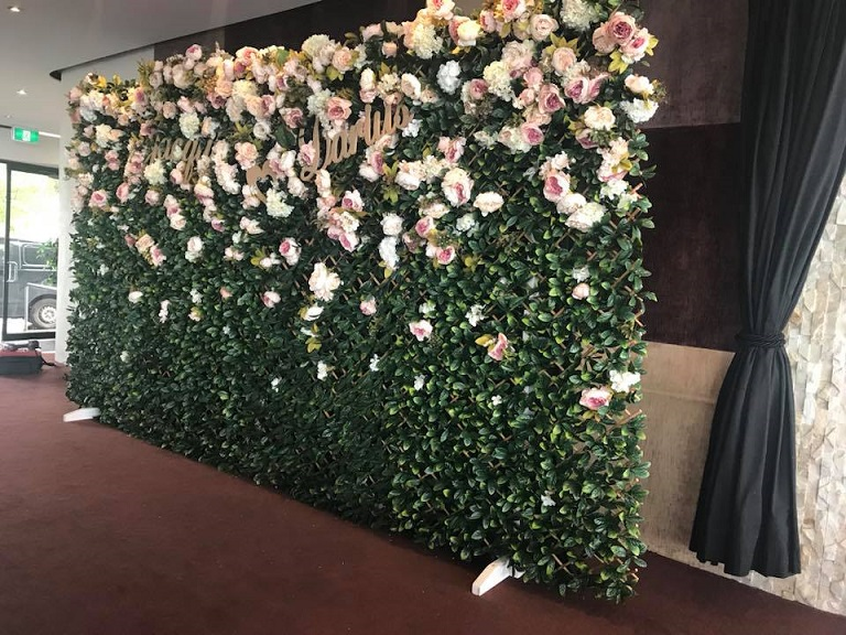 Flower Walls Melbourne Wedding Functions Events