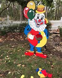 6' Giant Clown Toss $55